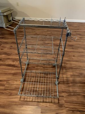 Mobile Entertainment/storage Shelf for Sale in Blacksburg, VA