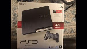 PS3 320GB w/move for Sale in Brownstown Charter Township, MI