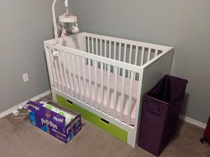 Ikea crib and changing table - still available for Sale in Renton, WA