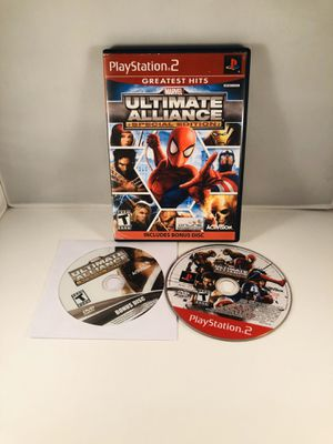 Marvel ultimate alliance special edition PlayStation 2 for Sale in Long Beach, CA