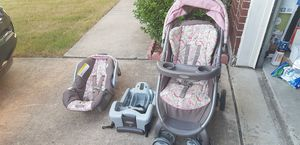 Stroller, car seat and base Graco for Sale in Murphy, TX