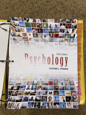 psychology textbook for Sale in Renton, WA