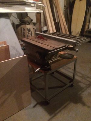Craftsman Table Saw 100 Mint with new blade for Sale in San Diego, CA