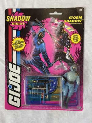 GI JOE STORM SHADOW SHADOW NINJAS ACTION FIGURE 1993 NEW SEALED HASBRO for Sale in Renton, WA
