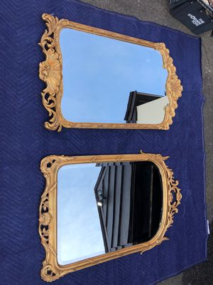 Antique gold mirrors for Sale in Saugus, MA