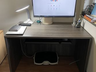 FREE Sturdy Desk 48x30 With Keyboard Tray for Sale in Redwood City,  CA