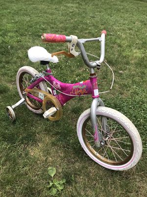 "Girls 16"" Bicycle Bike w/ Training Wheels for Sale in Westerville, OH"