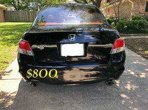 🍁🔥$8OO URGENT I sell my family car 2OO9 Honda Accord Sedan V6 EX-L 𝓹𝓸𝔀𝓮𝓻 𝓢𝓽𝓪𝓻𝓽 Runs and drives very smooth !🍁🔥 for Sale in Wichita, KS