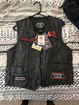 Women motorcycle cycle vest for Sale in North Las Vegas, NV