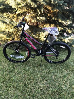 Brand New Mongoose Women's 24 Inch Bike with 21 Gears for Sale in Orland Park, IL