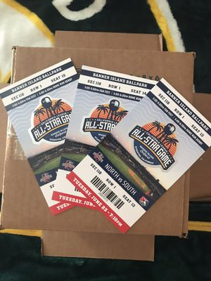 Stockton Ports all star game ticket stubs for Sale in Stockton, CA