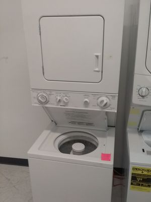 Kenmore stackable washer and gas dryer used good condition 90days warranty for Sale in Mount Rainier, MD