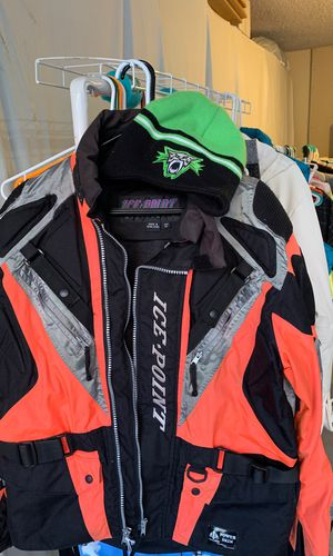 Arctic cat jacket and duffel bag for Sale in Gresham, OR