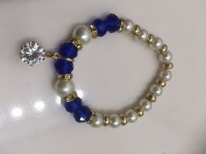 Real pearls blue Bracelet for Sale in Arlington, TX