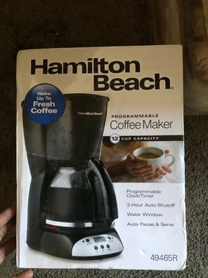 Brand new never used coffee maker for Sale in Montgomery Village, MD