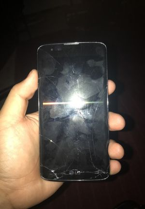 Lg Tribute 5 cracked screen for Sale in Clarksburg, MD