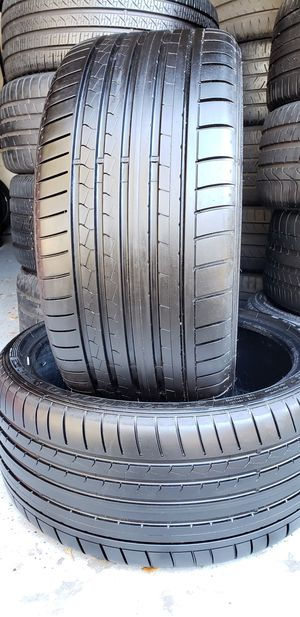 Two 275/30/20 DUNLOP SP SPORT MAXX GT DSST for Sale in Tampa, FL