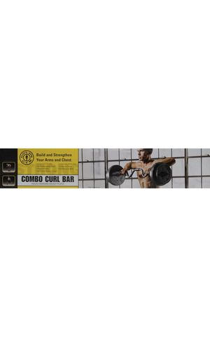 Combo curl bar for Sale in Bridge City, TX