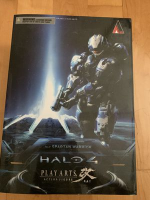 "Square Enix Spartan Warrior Halo 4"" Play Arts Kai Action Figure for Sale in El Monte, CA"