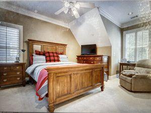 Wooden Bedroom Set (Dresser and Bed Frame only) for Sale in Atlanta, GA