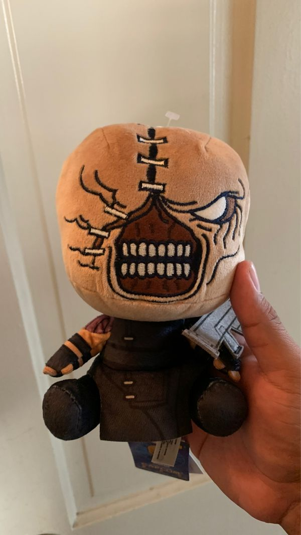Resident evil collectible toy plushy