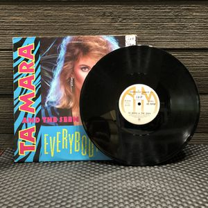 Ta Mara And The Seen Everybody Dance 12 Inch Vinyl Single 80s Electro Synth Pop for Sale in Milpitas, CA