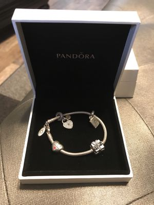 Pandora bracket and charms! for Sale in Pittsburgh, PA