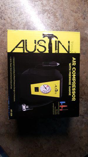 Austin 12 volt portable air compressor for Sale in Brainerd, MN