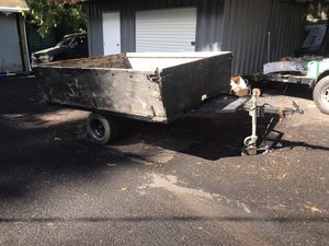 Tilt deck utility trailer for Sale in Bothell, WA