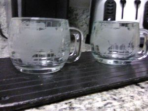 """Antique""* Unused---Nescafe International World Map Coffee Mugs for Sale in Huntington Beach, CA"