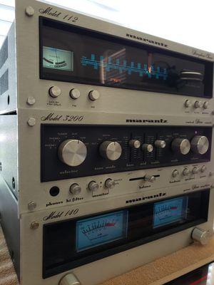 Marantz 140, Marantz 3200, Marantz 112 very good condition. for Sale in Round Rock, TX