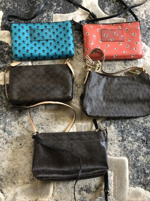 Authentic MK, Coach, CK Calvin Klein Bags Cross Body. for Sale in Springfield, VA