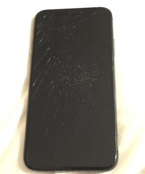 iPhone X 64gb Unlocked cracked screen for Sale in Seattle, WA