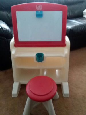 Kids activity desk and stool for Sale in Lockport, NY