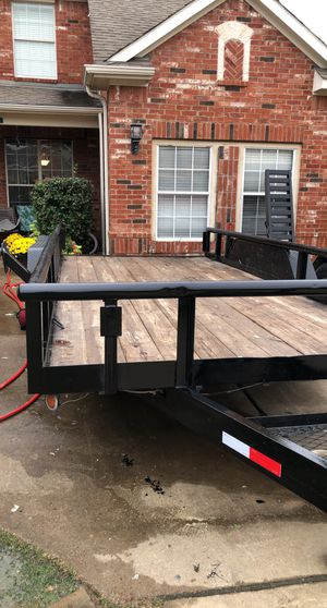 16ft HEAVY DUTY trailer pipe top for Sale in Grand Prairie, TX