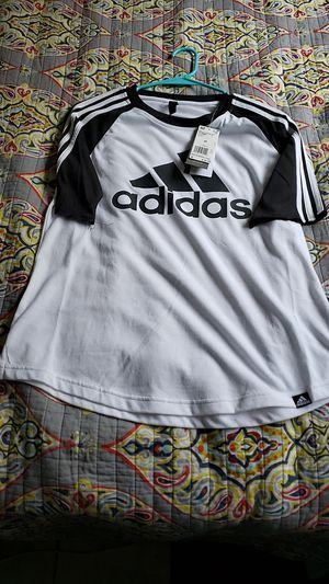 Womens ADIDAS baseball tee size M for Sale in Los Angeles, CA