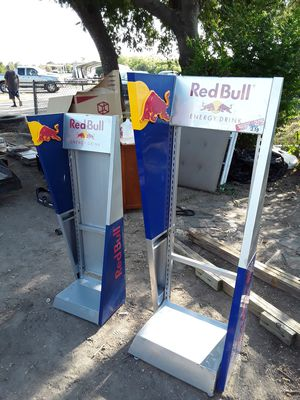 Bunch of Metal Wire Commercial Store Display Units, Shelves including RED BULL & 5 HOUR ENERGY for Sale in Waxahachie, TX