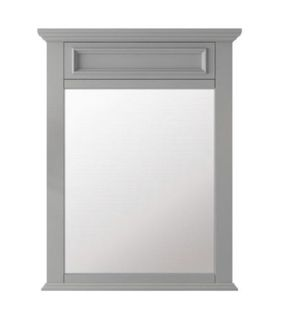 Home Decorators Collection Sadie 28 in. x 36 in. Framed Wall Mirror in Dove Grey for Sale in Glendale, AZ