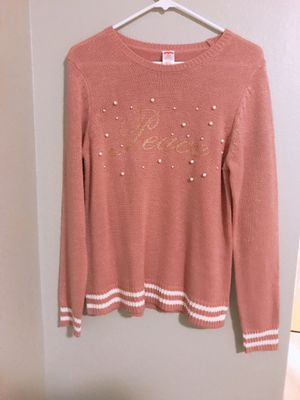 """Holiday Time """"Peace"""" sweater with Shawl for Sale in Tacoma, WA"""