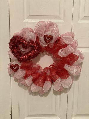 Handmade Valentine's Day wreath for Sale in Ashburn, VA