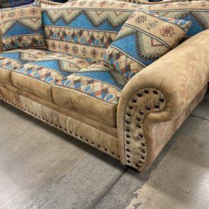 Luxury Southwest Sofa LIKE NEW!!! for Sale in Phoenix, AZ