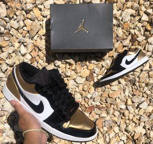 Jordan 1 Low 'Gold Toe' 🍯 for Sale in Rio Linda, CA