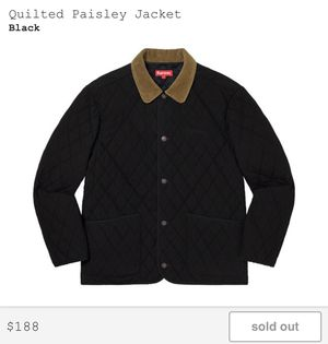 SUPREME QUILTED PAISLEY JACKET for Sale in Fairfax, VA