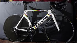 Cervelo p3 TT Time Trial bike full carbon with Corima full carbon fiber disc 56cm for Sale in Los Angeles, CA
