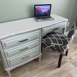 Costal Desk And Chair for Sale in Loxahatchee, FL