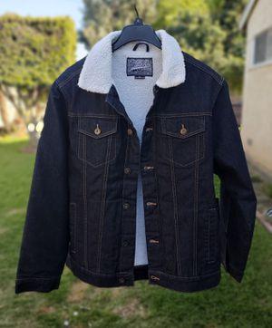 Men's jacket denim xl jacket blue for Sale in Whittier, CA