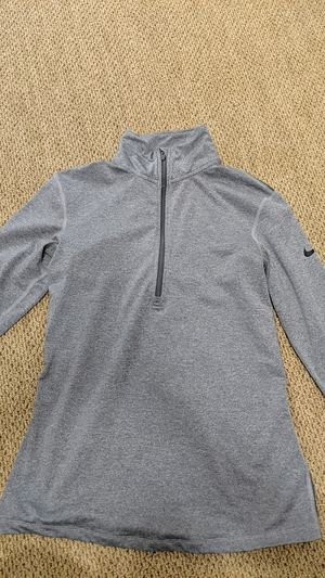 Nike dri fit half zip, grey for Sale in Pacifica, CA