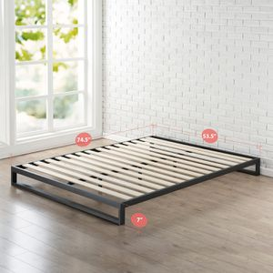 Zinus Trisha 7 Inch size FULL Heavy Duty Platform Bed Frame for Sale in Modesto, CA