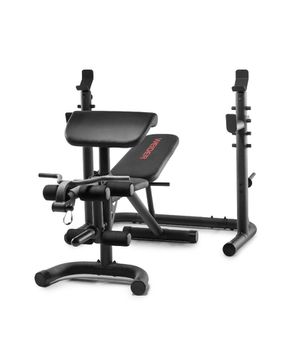Weider XRS 20 Olympic Workout Bench with Independent Squat Rack and Preacher Pad for Sale in New York, NY