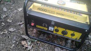 Champion generator 4000/3500 for Sale in Port Orchard, WA